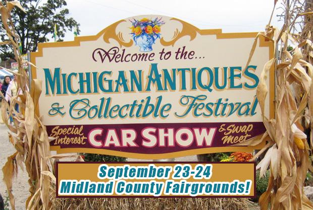 Midland Antique Festival – Michigan Antique Festivals