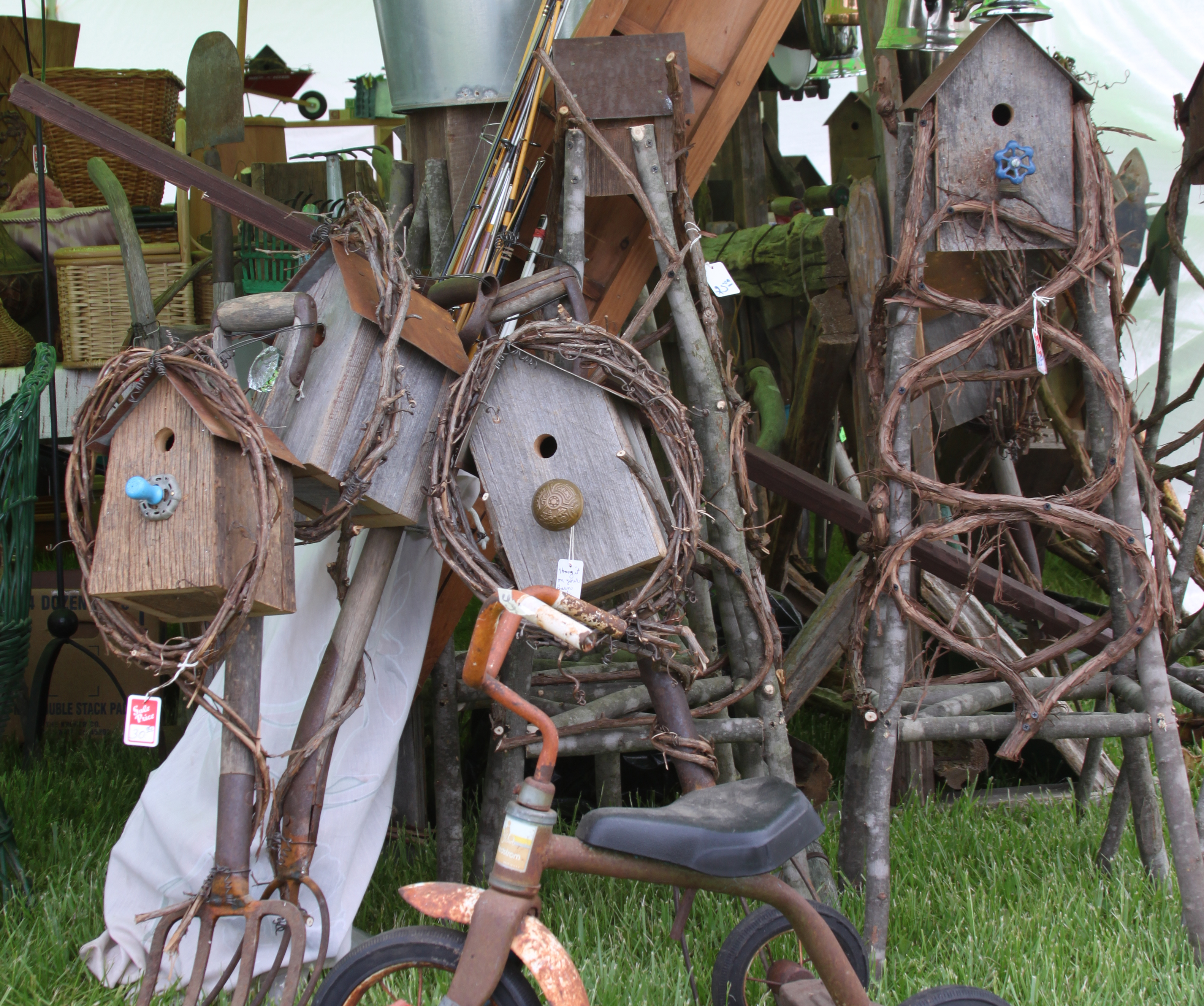 Primitives And Country Home Decor Michigan Antique Collectible